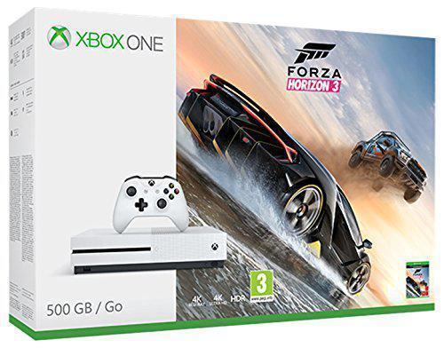 CONSOLE MICROSOFT XBOX ONE S 500GB + FORZA HORIZON 3 ZQ9-00116