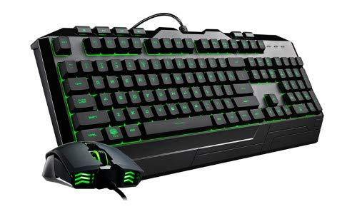 Cooler Master Devastator III Tastiera a Membrana e Mouse Retro-Illuminazione LED 7 Colori