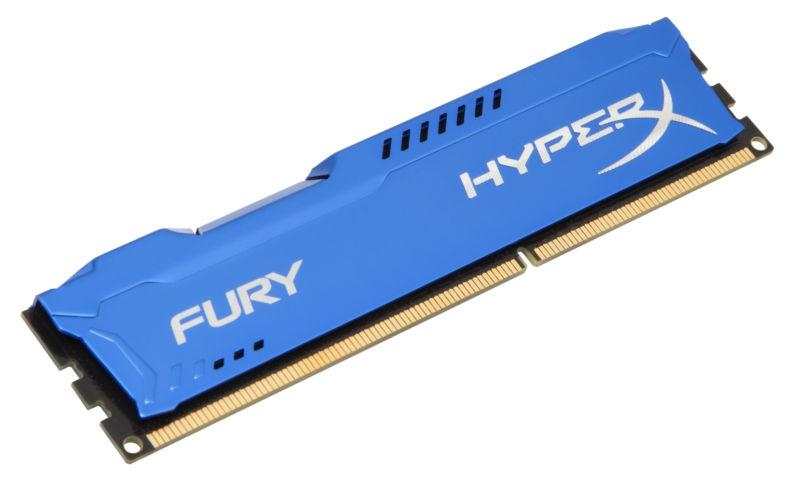 KINGSTON RAM DDR3 HYPERX FURY 8GB 1866MHZ PC3-14900 BLU HX318C10F/8