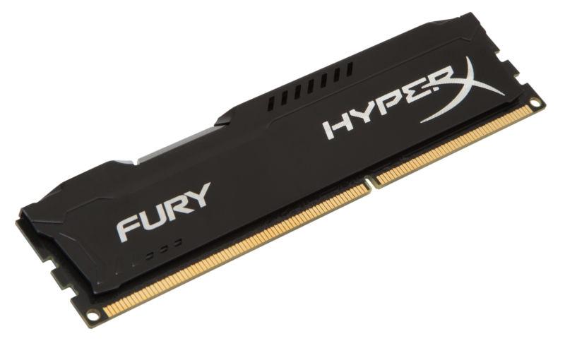 KINGSTON RAM DDR3 HYPERX FURY BLACK 4GB 1866MHZ PC3-14900 HX318C10FB/4