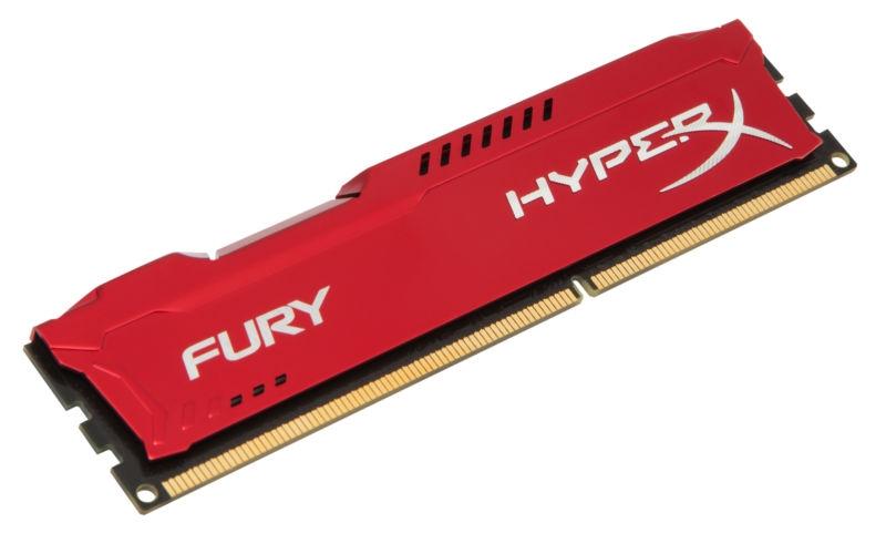 KINGSTON RAM DDR3 HYPERX FURY RED 4GB 1600MHZ PC3-12800 HX316C10FR/4