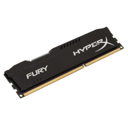 Memoria Ram DDR3 Kingston 4GB 1600Mhz HX316C10FB/4 FURY Hyperx BLACK