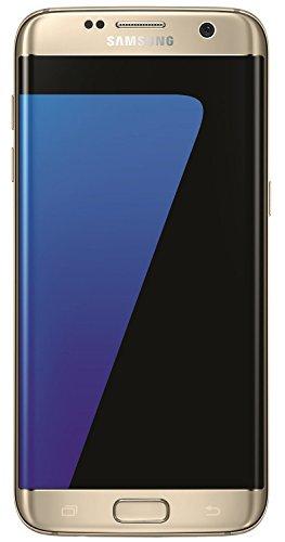 """Samsung Galaxy S7 Edge Smartphone da 32GB, 5.5"""", 12MP, 4GB RAM, Android 6.0, Oro (Ricondizionato Certificato)"""
